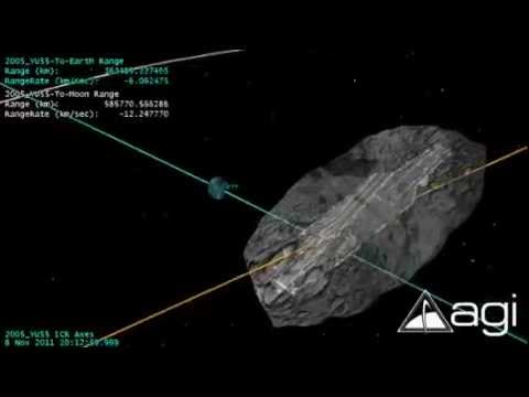 view asteroid 2005 yu55 - photo #28