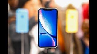 نظرة على الهاتف المحمول iPhone XR
