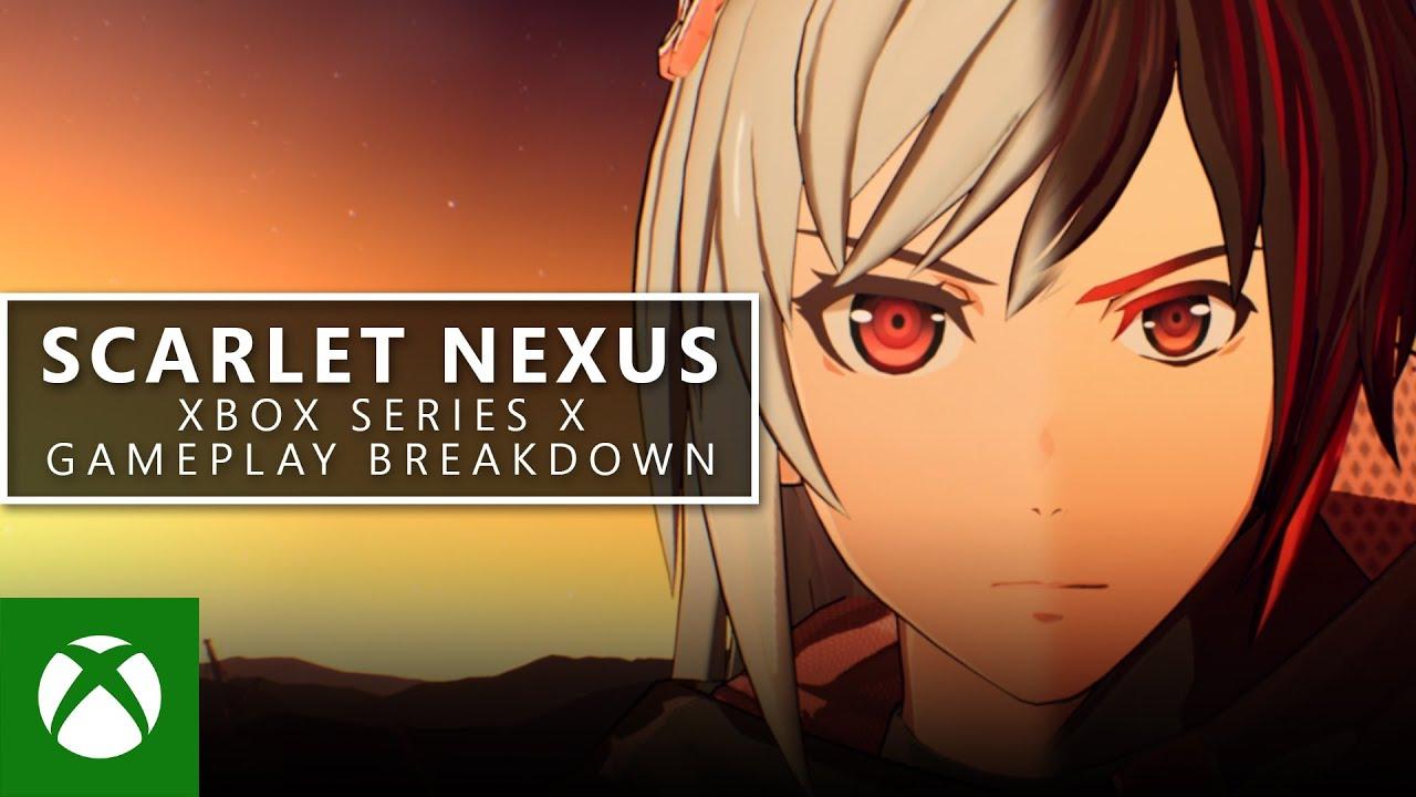 SCARLET NEXUS - Los desarrolladores detallan su jugabilidad en Xbox Series X