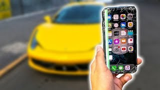 FERRARI vs iPHONE X - Prueba extrema!