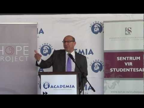 Trevor Manuel: The role of students in achieving the National Planning Commission
