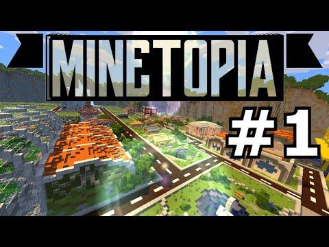 MINETOPIA #1 - EEN 200.000 EUR SCHULD!? Minecraft Reallife Server