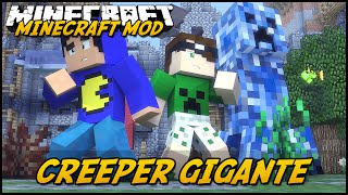 Minecraft Mod: CREEPER GIGANTE! (Creepers Elementais // Elemental Creepers)