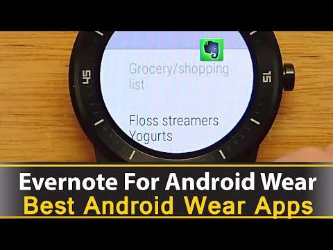 Evernote For Android Wear - Best Android Wear Apps Series