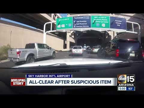 Suspicious item investigated at Sky Harbor Terminal 4