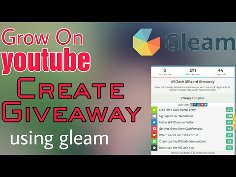 How to create giveaway for youtube channel | Hindi | BS