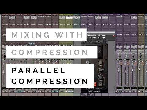 Mixing With Compression – Parallel Compression – TheRecordingRevolution.com