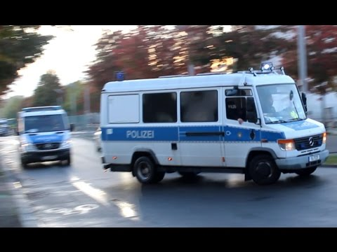 [President Putin in Berlin] Ukraine meeting in Bundeskanzleramt, Großeinsatz Berliner Polizei
