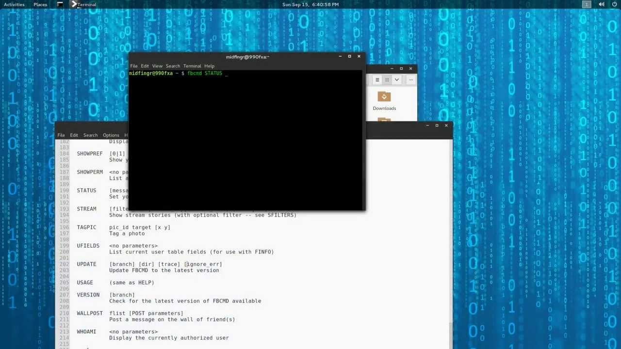Arch Linux: Facebook Command Line - YouTube