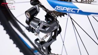 Scott Aspect 740 white blue 2014 Hardtail Mountainbike 27,5 Zoll