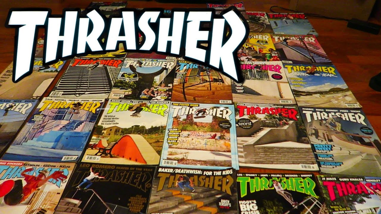 ed084318918a My Thrasher Magazine Collection! - YouTube