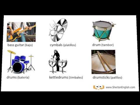 Instrumentos Musicales en inglés (Musical Instruments)
