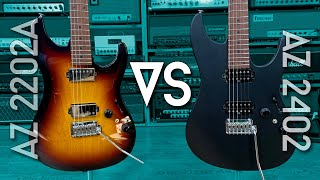 How are these Ibanez AZs different?