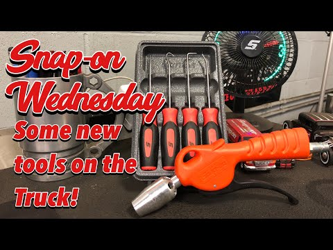 SNAP-ON WEDNESDAY - Lot's Of New Snap-on Tools On The Truck