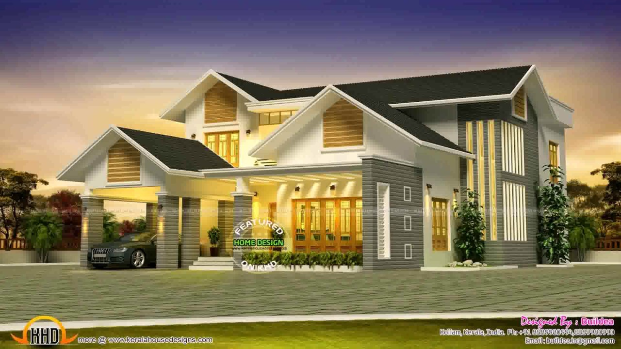 8 Bedroom House Design - YouTube