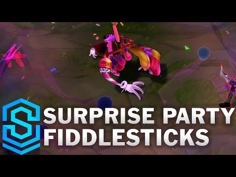 Surprise Party Fiddlesticks (2020) Skin Spotlight - League of Legends