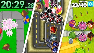 Speedrunning EVERY Bloons Game?! (Bloons TD 1 - Bloons TD 6)