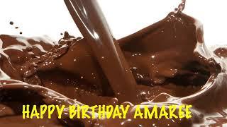 Amaree  Chocolate - Happy Birthday