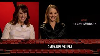 Rosemarie DeWitt and Jodie Foster Interview for Black Mirror