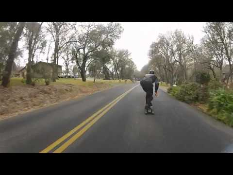 Bombing Hills and Learning to Slide on a Longboard