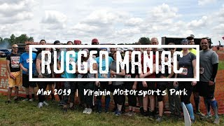 Rugged Maniac 5K Obstacle Race - Virginia Spring 2019 (ALL Obstacles)