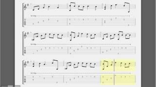 [Guitar Tab] Reason OST Autumn in my heart [Tab G]