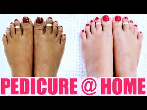 Pedicure At Home | SuperPrincessjo