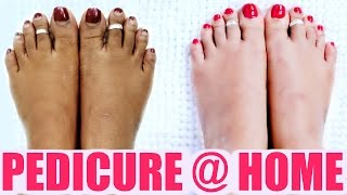 Pedicure At Home | SuperPrincessjo