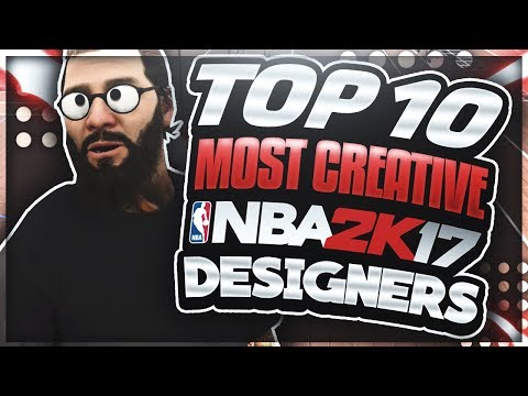 TOP 10 MOST CREATIVE DESIGNERS IN THE 2K COMMUNITY!!!! (MUST WATCH)🔥🔥🔥