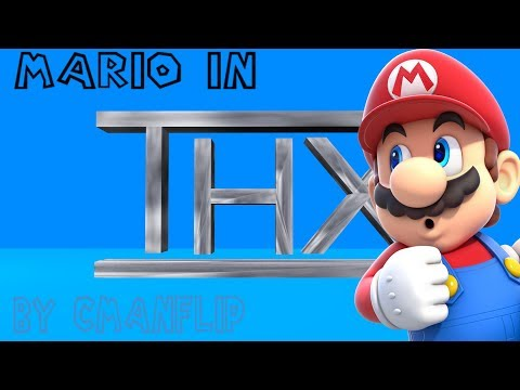 Mario in THX Logo 1080p60