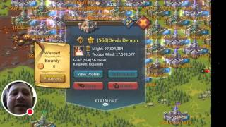 Lords Mobile - War on K1 40 MIL Loss +