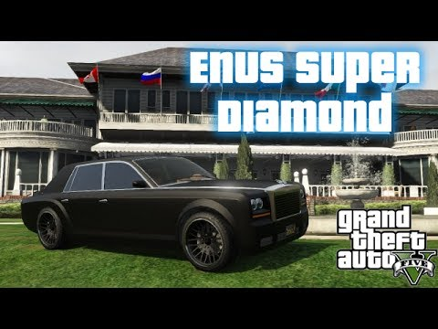 GTA V - Modded Enus Super Diamond (Rolls-Royce Phantom ...