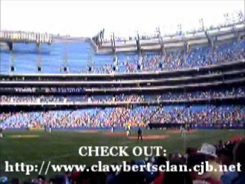 Rogers Centre Video #9 (2005 Blue Jays Baseball Game)