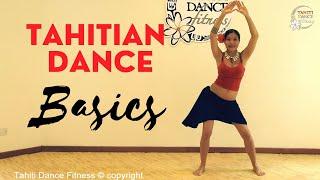 How to Tahitian Dance - Basics steps / Beginners Tutorial   - Tahiti Dance Fitness