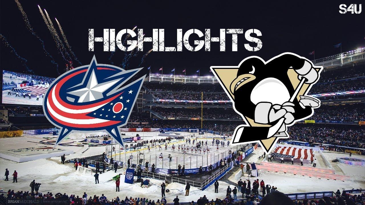 Sport4U   Columbus Blue Jackets vs Pittsburgh Penguins   Stanley ...