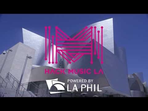 Hack Music LA at Walt Disney Concert Hall - Event Recap