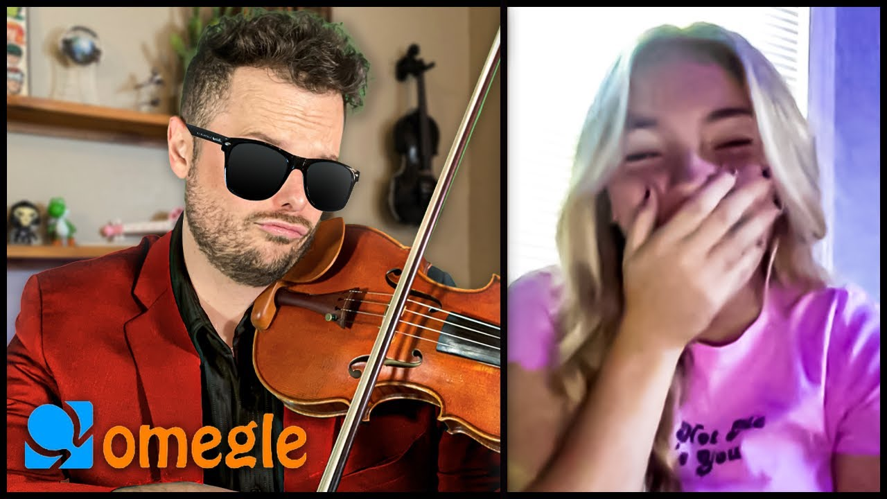 Classical Violinist Surprises Omegle With POP Music