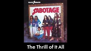 Black Sabbath - The Thrill of It All (lyrics)