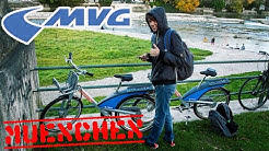 MÜNCHEN CITY TOUR - BAVARIA - MVG RAD IM TEST!
