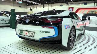 Exotic Dubai Police cars - Bentley - BMW i8 - Nissan GTR - Porsche