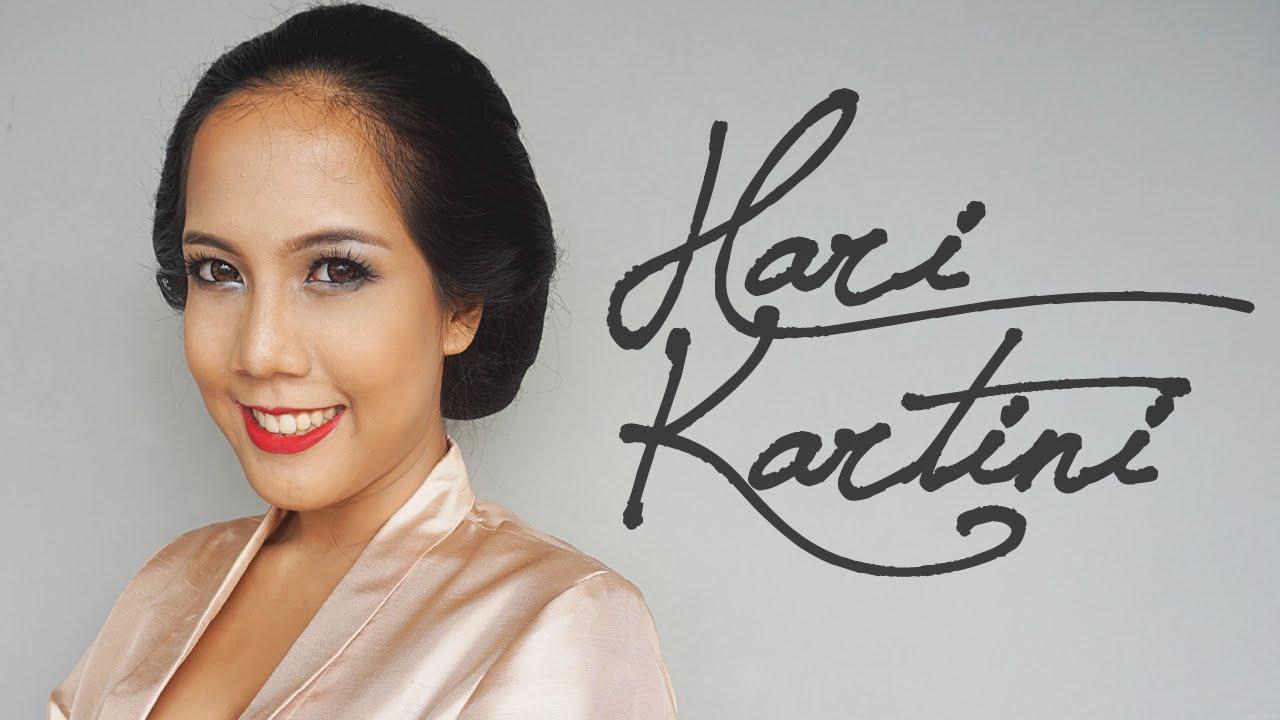 Kartini Make Up Look Youtube