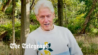 video: Watch: Bill Clinton says he's 'doing great' and thanks medical staff after hospital treatment