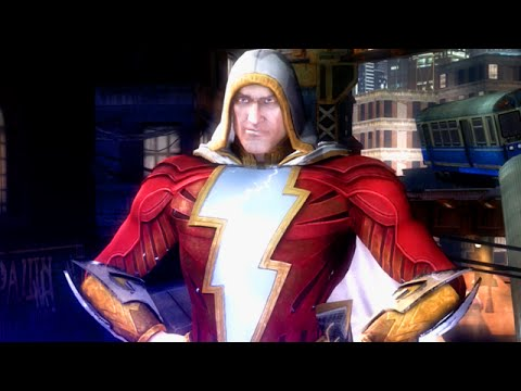 "HAVING FUN WITH SHAZAM! - Injustice ""Shazam"" Gameplay (S.T.A.R Labs Mission 41-50)"