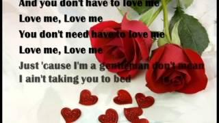 Video Chivalry Is Dead-(karaoke with lyrics)Trevor Wesley download MP3, 3GP, MP4, WEBM, AVI, FLV April 2018