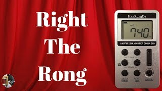 HanRongDa HRD-103 AM FM Stereo Portable Radio Unboxing & Review