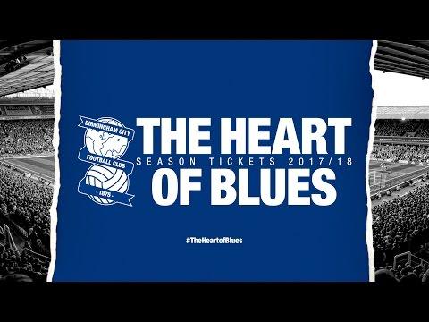 #TheHeartofBlues | Birmingham City Season Tickets 2017/18
