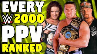 Every 2000 WWE PPV Ranked From WORST To BEST