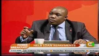 Power Breakfast: HELB Loans Repayments
