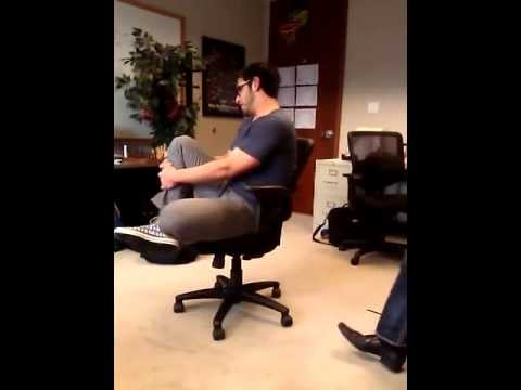 World Record At The Time Office Chair Spinning