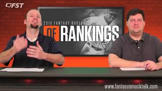2018 Fantasy Baseball Outfield OF Tiers & Rankings